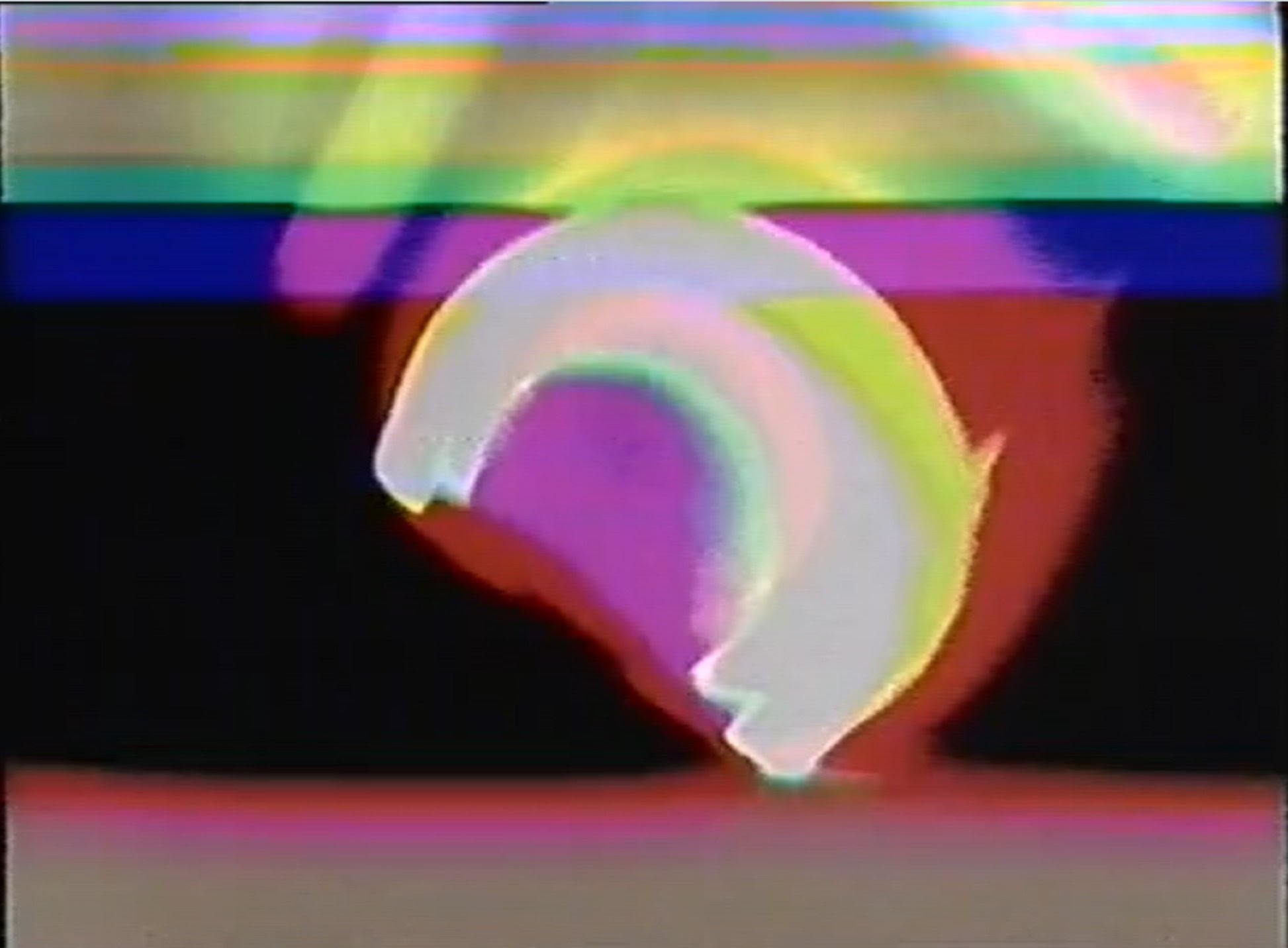 Electronic Painting Brain In The Space 1969