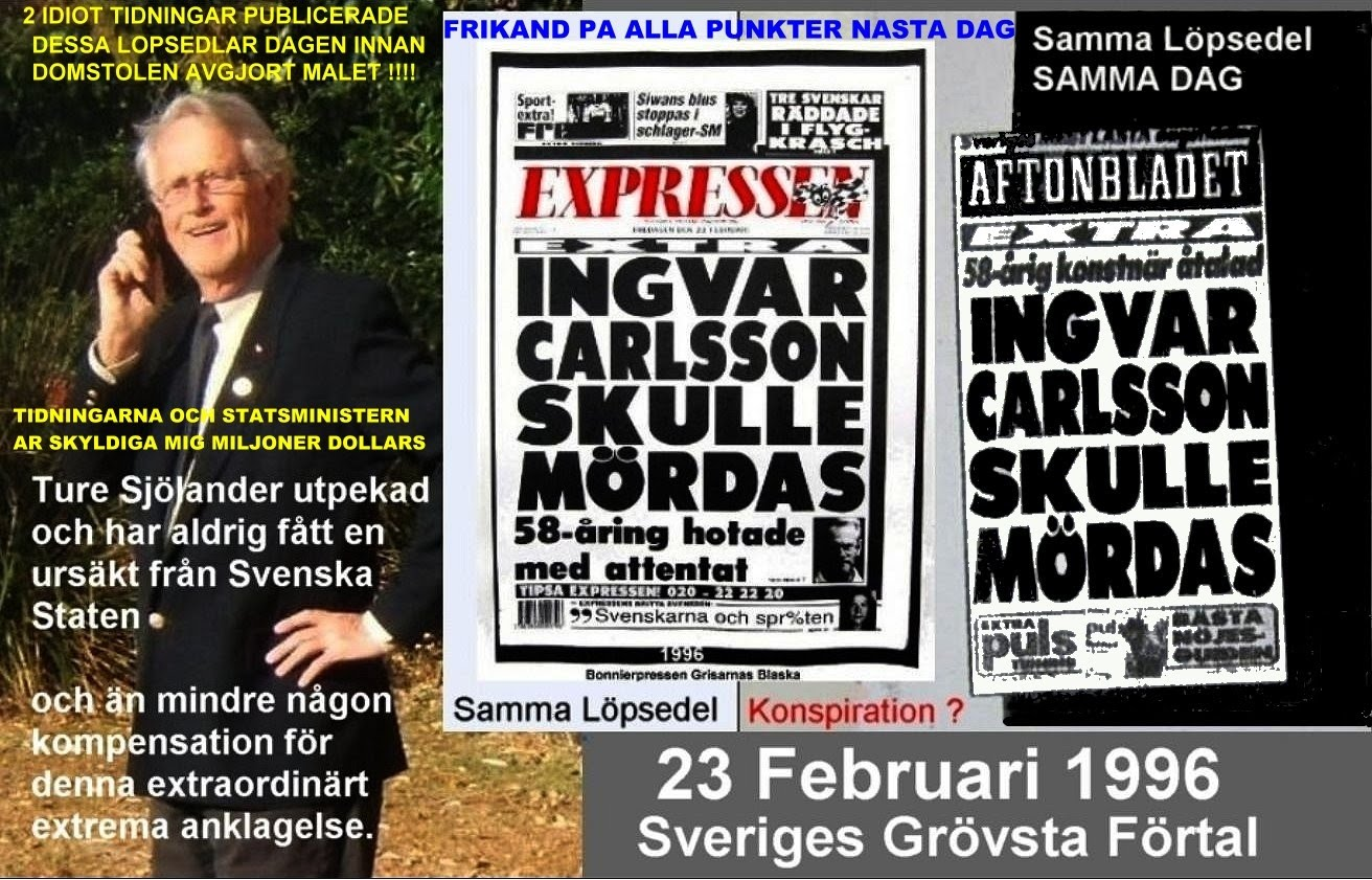 DIRTY SWEDISH TABLOID NEWS PAPER